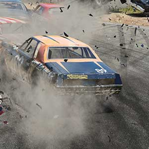 Wreckfest Car Crash