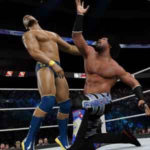 WWE 2K15 Kampfszene