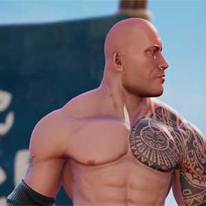 WWE 2K-Schlachtfelder The Rock