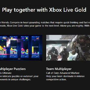 Xbox Live Gold Membership 12 Months Subscription Zusammen spielen