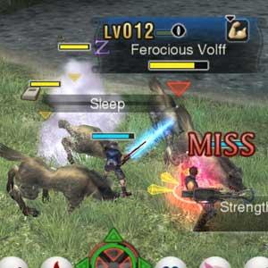 Xenoblade Chronicles 3D Nintendo 3DS Ferocious Volff