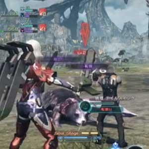 Xenoblade Chronicles X Nintendo Wii U Schlacht Menu