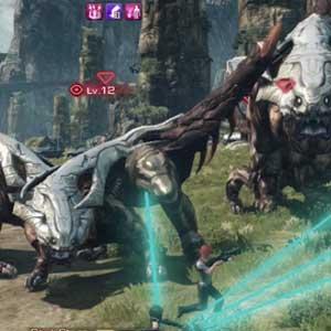 Xenoblade Chronicles X Nintendo Wii U Schlacht
