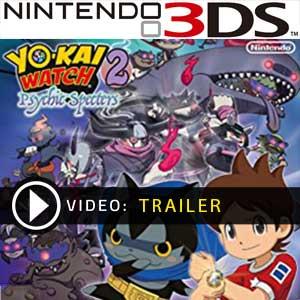 YO-KAI WATCH 2 Psychic Specters Nintendo 3DS Digital Download und Box Edition