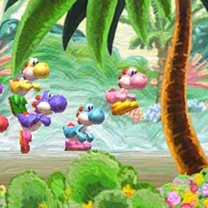Yoshis New Island Nintendo 3DS Springen