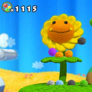 Yoshis Woolly World Nintendo Wii U Blume