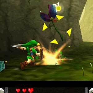 Zelda Ocarina of Time 3D Nintendo 3DS Springen
