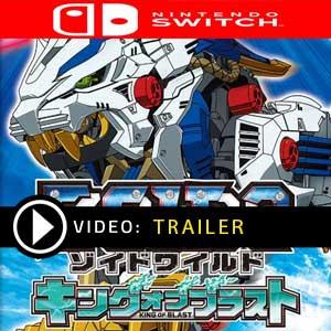 Zoids Wild King of Blast Nintendo Switch Digital Download und Box Edition