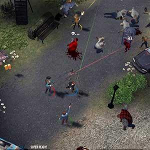 Zombies-Gebiet